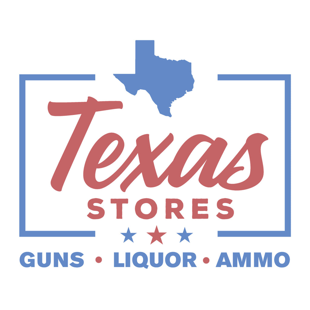 The Legendary Texas Stores T - Blue Text - MATACA