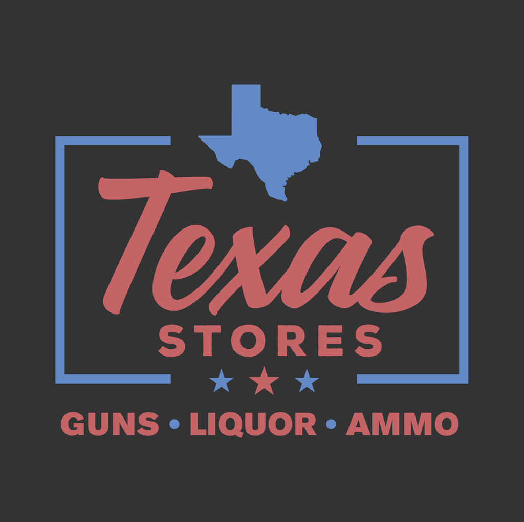 The Legendary Texas Stores T - Red Text - MATACA