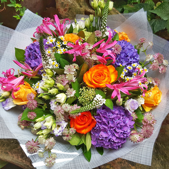 Bright & Colourful ( Florals are available in your choice of color ) - Yeomans Flowers