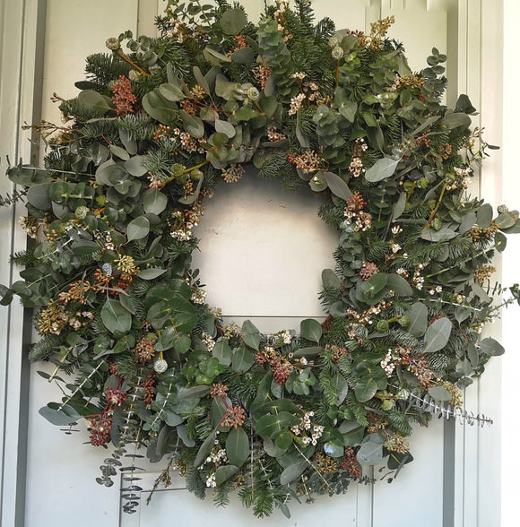 Christmas Wreath - Yeomans Flowers in London NW1
