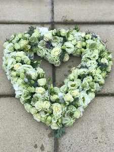 Floral Open Heart Tribute - Yeomans Flowers in London NW1