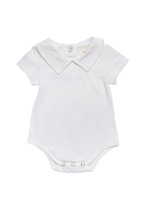 Load image into Gallery viewer, Baby boy collared romper