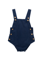 Load image into Gallery viewer, Classic Romper - Navy