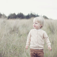 Load image into Gallery viewer, Boys Knitted Cardigan - Oatmeal