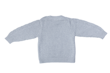 Load image into Gallery viewer, Cotton knitted Jumper - Cloud grey
