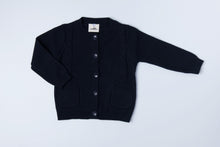 Load image into Gallery viewer, Knitted Cardigan - Midnight Blue