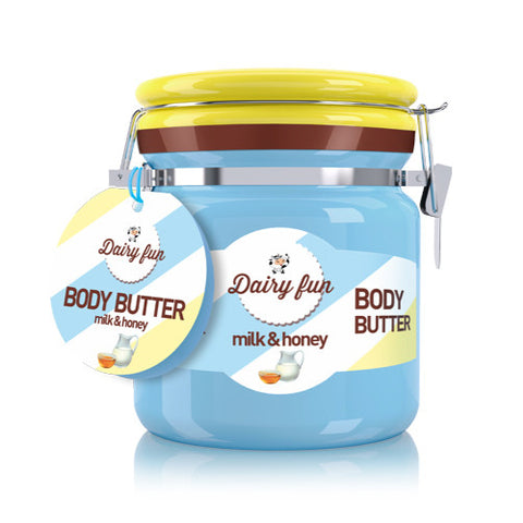 Milk & Honey Body Butter | Dairy Fun