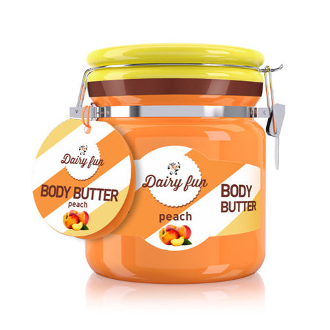 Peach Body Butter | Dairy Fun