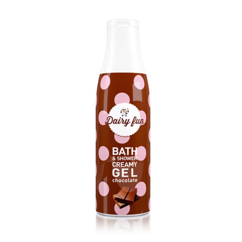 Chocolate Bath & Shower Gel | Dairy Fun