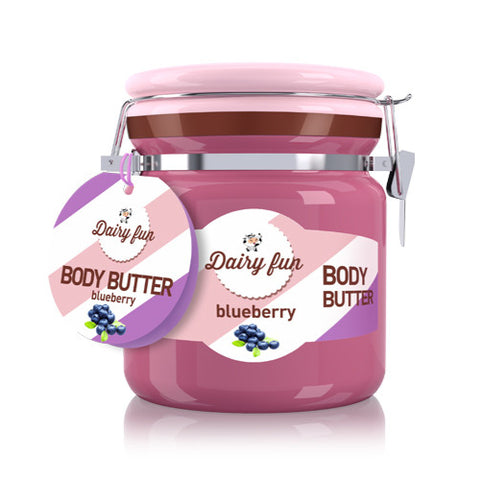 Blueberry Body Butter | Dairy Fun