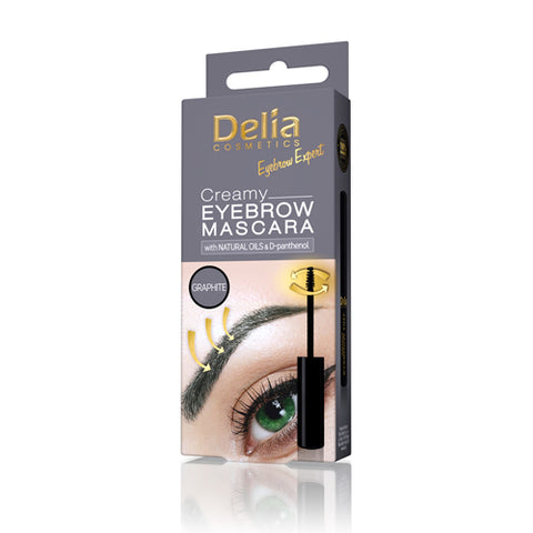 Graphite Eyebrow Mascara | Delia