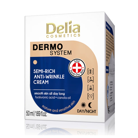 Semi Rich Anti-Wrinkle Cream | Delia