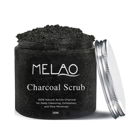 Natural Charcoal Scrub | Melao