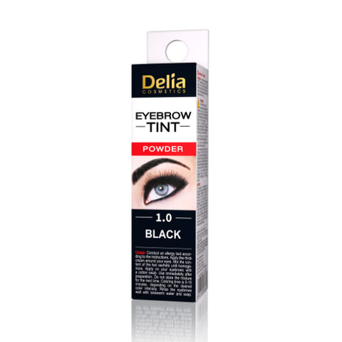 Eyebrow Tint Powder Black | Delia