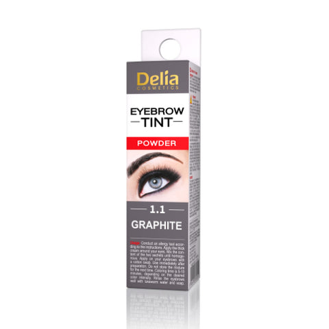 Eyebrow Tint Powder Graphite | Delia