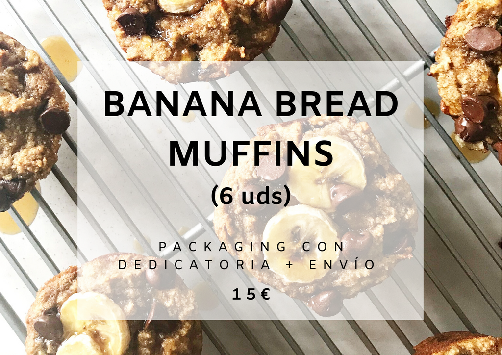 Banana Bread Muffins 6 uds.