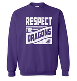 Winter PTO 19 - Youth/Adult Crewneck Sweatshirt in Multiple Colors (Respect Design)