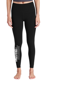 Winter PTO 19 - Ladies Black High Rise 7/8 Length Legging (Pant)