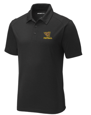 Johnston Football '20 - Adult/Unisex Tri-Blend Polo (Flying J)