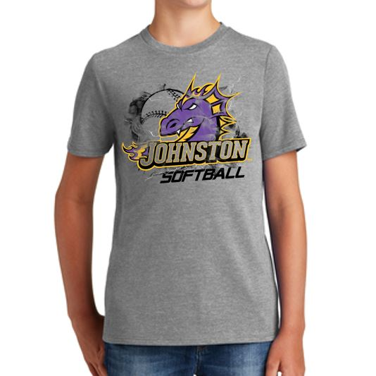 Johnston Select Softball - Youth Triblend T'Shirt
