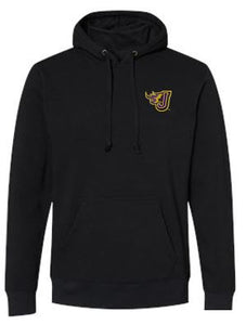 JCSD  - Men's/Unisex Build In Gaiter Hooded Sweatshirt (Fire J EMB)