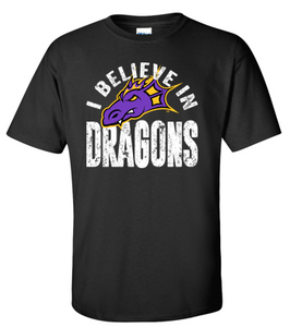 JCSD - I Believe in Dragons Tshirt (Mens/Unisex)
