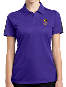 Johnston Band - Ladies Colorblock Polo (Embroidery Design)