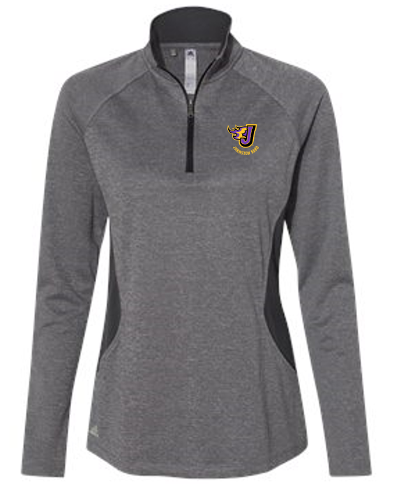 Johnston Band - Ladies Adidas Lightweight Quarter-Zip Pullover (Embroidery Design)