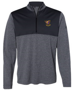 Johnston Band - Adult Adidas Lightweight Quarter-Zip Pullover (Embroidery Design)