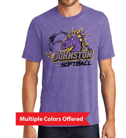 Johnston Select Softball - Adult Triblend T'Shirt