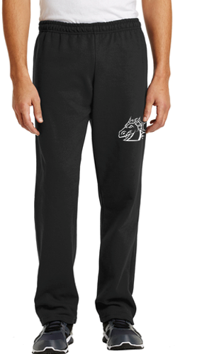 Spring PTO '20 - Youth/Adult Open-Bottom Sweatpants (Dragon Head)