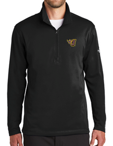 Spring PTO '20 - Adult/Unisex Black North Face 1/4 Zip Fleece (EMB)