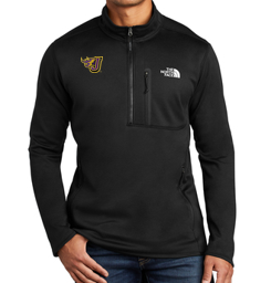 Spring PTO '20  - Adult/Unisex Black North Face 1/2 Zip Fleece (EMB)