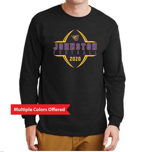 Johnston Football '20 - Youth/Adult Long Sleeve T-Shirt (Football Design)