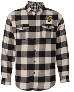 Spring PTO 2021 - Adult Long Sleeve Flannel Shirt (EMB)