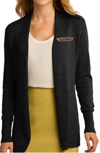 JCSD - Embroidered Open Front Cardigan Sweater in Various Colors (Ladies)