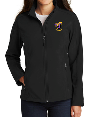 Johnston Band - Ladies Soft Shell Jacket (Embroidery Design)