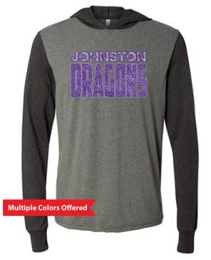 Fall PTO '20 - Adult Jersey Hooded Long Sleeve T-shirt (Dragon Scales)