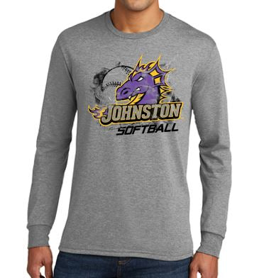 Johnston Select Softball - Adult Triblend Long Sleeve T'Shirt