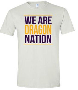 CLOSEOUT - We Are Dragon Nation White Tshirt (Youth/Unisex)
