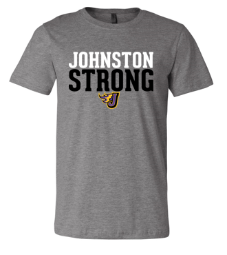 Winter PTO 19 - Johnston Strong Grey Super Soft CVC Tshirt (Adult/Unisex)