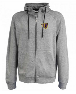 CLOSEOUT - Adult/Unisex Full-Zip Terry Fleece Hoodie (EMB)