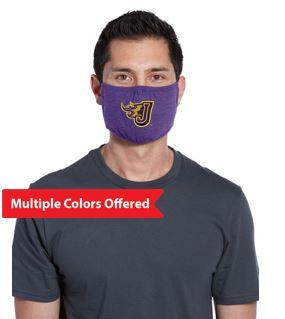 JCSD - 100% Cotton 3-Ply Fabric Face Mask (Fire J)
