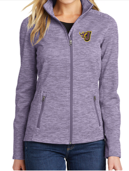 Winter PTO 19 - Fire J Digi Stripe Fleece Jacket (Ladies)