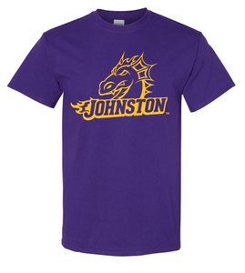 JCSD - Johnston Dragon Head Purple Tshirt (Youth/Unisex)