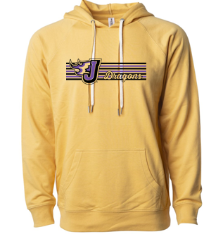 Fall PTO '20  - Lightweight Hooded Pullover (Stripe Design)