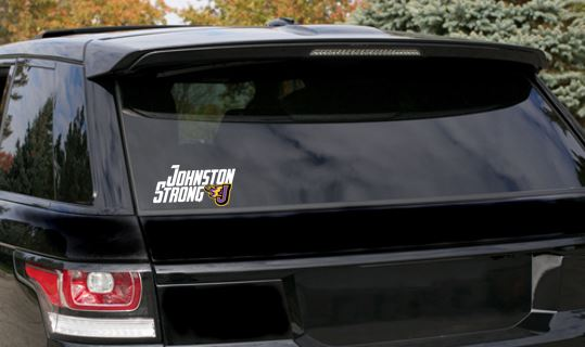 CLOSEOUT - Window Decal (Johnston Strong)