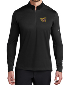 Summer PTO '20 - Adult/Unisex Black Nike 1/2 Zip Cover Up (EMB)