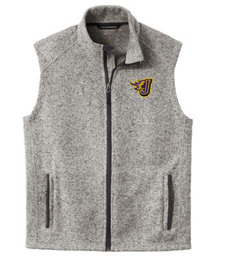 Winter PTO 19 - Adult/Unisex Sweater Fleece Vest (EMB)