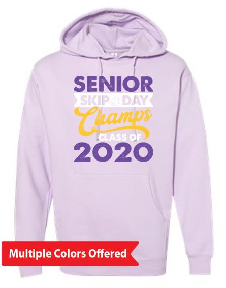 Summer PTO '20 - Adult Midweight Hoodie (Senior Skip Color)